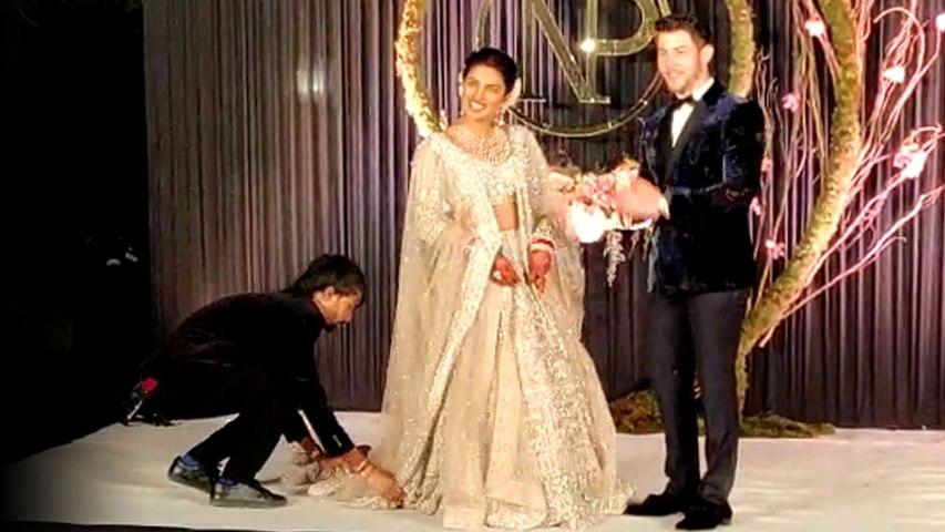 Priyanka Chopra ने स्टेज पर दिया ऐसा पोज, देखते रह गए Nick Jonas; Watch Video | Boldsky