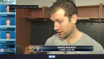 David Backes Reacts After Bruins' 5-0 Loss To Panthers