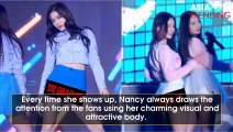 The half-breed angel Nancy's (Momoland) bust exposure and super-hot curves drive Kpop fans crazy