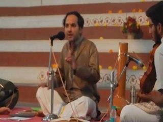 CHINMAYA M.RAO Live Concert Clip-Hamsadhwani Krithi-Abheeshta Varadasri-On 1-1-2017