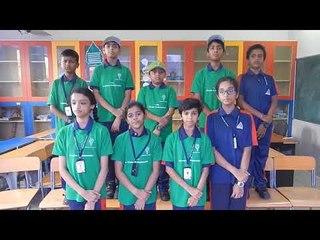 Alpine Public School Students Singing Deshoyam Mama Deshoyam Sanskrit Patriotic  Song
