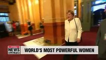 Angela Merkel tops Forbes' list of world's most powerful women for 8th year in a row