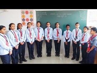 Alpine Public School  Kannada Students Practicing  Bhagyada Balegara Kannada Folk Song