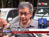 Rocky Gerung Bantah Terlibat Kasus Hoax Ratna Sarumpaet