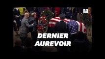 Aux Obsèques de George Bush, l'adieu de Bob Dole a profondément ému