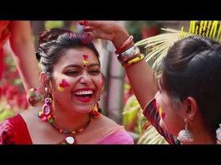 Holi song|| Colours on Canvas|| SATRANGEE || Rageshri,Manali || Bihaan Music