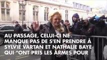 """""""Elles ne manquent pas d'air"""" : Pierre Rambaldi, un proche de Laeticia Hallyday, s'en prend à Sylvie Vartan et Nathalie Baye"""