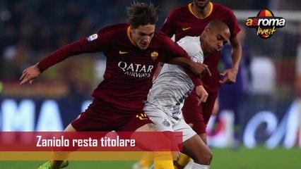 News Roma, torna l'abbondanza sulla trequarti ma Zaniolo resta titolare