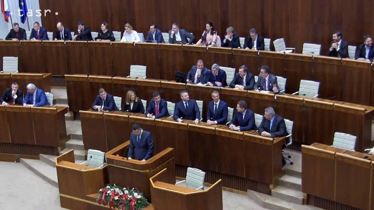 NRSR: Poslanci schválili vyrovnaný rozpočet na rok 2019