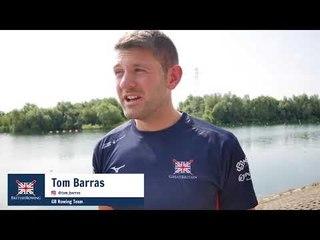 GB rowers Jonny Walton and Tom Barras holiday training tips