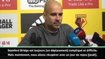 """16e j. - Guardiola : """"Gagner à Stamford Bridge"""""""