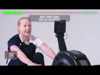 Go Row Indoor workout #2 - The low impact workout