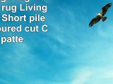 Traum Design rug Contemporary rug Living room rug Short pile Rug contoured cut Check