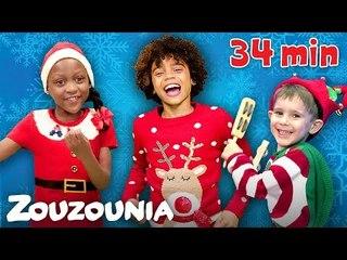 Ζουζούνια | Ελληνικά και Αγγλικά Χριστουγεννιάτικα  Παιδικά Τραγούδια