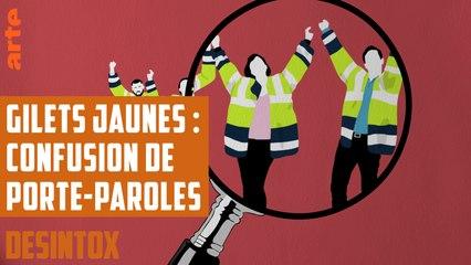 Gilets jaunes : confusion de porte-paroles - DÉSINTOX - 5/12/2018