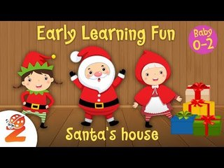 Early Learning Fun #3 | Santa's House  Zouzounia Baby | Learn to Count | Educational