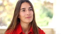 Perrine Laffont se prête au jeu de l'interview «petits papiers» - Ski de bosses - CM (F)