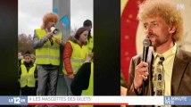 """""""Gilets jaunes"""": un sosie de Jeff Tuche, star des blocages - ZAPPING ACTU DU 05/12/2018"""