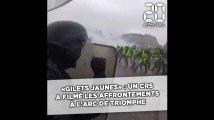 Un CRS a filmé les violents affrontements avec les «gilets jaunes» à l'Arc de Triomphe