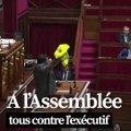 Gilets jaunes: à l'Assemblée, tous contre le gouvernement