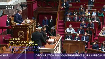 Valérie Rabault - Débat à l'Assemblée nationale - 5 decembre 2018