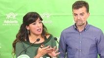 Rodríguez asegura Adelante no votará investidura de Ciudadanos