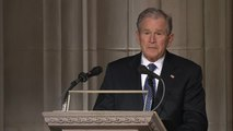 FULL VIDEO: Former President George W. Bush eulogizes his father, former President George H.W. Bush