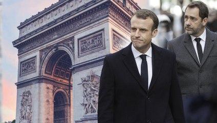 Macron Place de l'Etoile (Parodie)