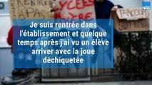 """TÉMOIGNAGE - """"On est tous très choqués"""" raconte une enseignante du Lycée Simone de Beauvoir de Garges-lès-Gonesse (Val-d-Oise)_"""