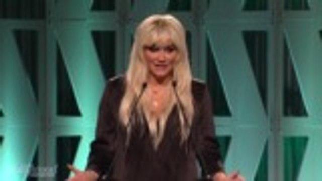 Kesha Presents Heartfelt Video on Hollywood Reporter Mentorship Program   Women in Entertainment 2018