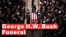 Highlights Of President George H.W. Bush's Funeral