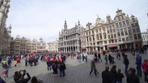 Grand-Place de Bruxelles, capitale de la Belgique
