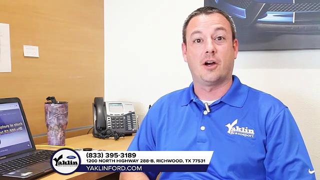 Yaklin Ford | Ford sales Richwood, TX