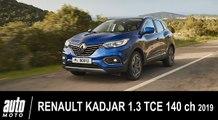 2019 Renault KADJAR 1.3 TCE 140 ch Intens ESSAI AUTO-MOTO.COM