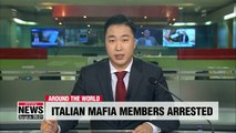 At least 90 Ndrangheta mafia members arrested in Europe-wide raids