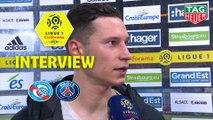 Interview de fin de match : RC Strasbourg Alsace - Paris Saint-Germain (1-1)  - Résumé - (RCSA-PARIS) / 2018-19