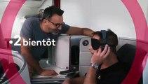 Thomas Pesquet analyse le décollage de l'avion dans Rendez-vous en terre inconnue