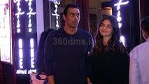 Arjun Rampal With GF Gabriella Demetriades Spotted At Hakkasan For Dinner