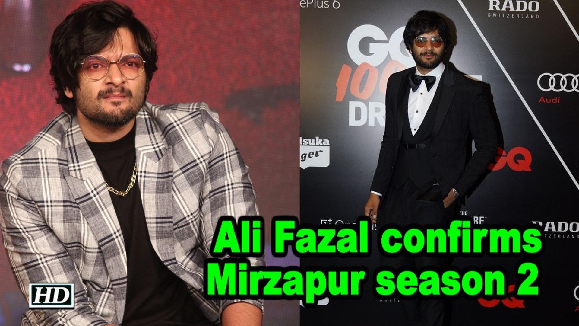 Ali Fazal confirms Mirzapur season 2