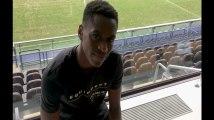 "Sambi Lokonga: ""Pour moi le joueur le plus fort reste Messi"""