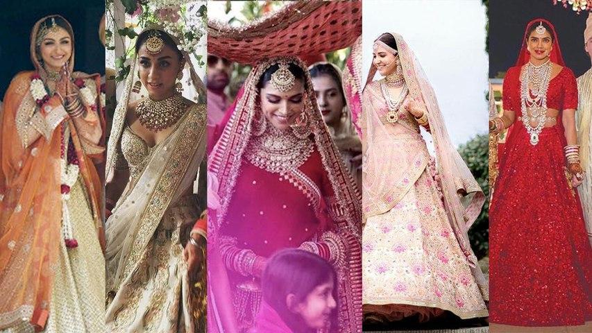 Deepika Padukone to Anushka Sharma, Sabyasachi की 8 दुल्हनें जिन पर फिदा हुआ पूरा हिंदुस्तान Boldsky