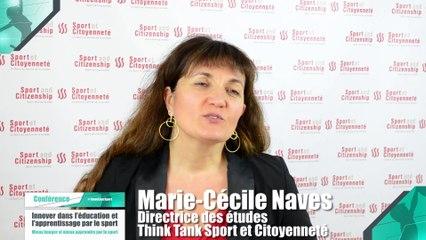 Colloque : Innover dans l'éducation et l'apprentissage par le sport - Marie-Cécile Naves