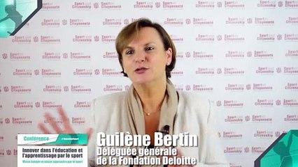 """Colloque : Innover dans l'éducation et l'apprentissage par le sport"""" - Guilène Bertin"""