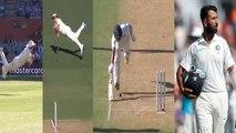 India Vs Australia 1st Test: Pat Cummins stuns cricket with his best ever run out| वनइंडिया हिंदी