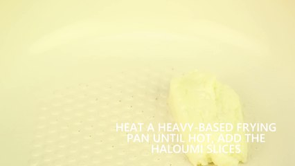 Short - Greek country salad with haloumi