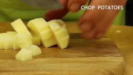 Short - Potato & coconut soup