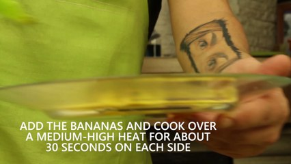 Short - Bananas with toffee sauce