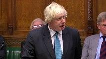 Boris Johnson apologises to Parliament