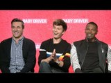 Baby Driver Interview With Jon Hamm, Ansel Elgort and Jamie Foxx