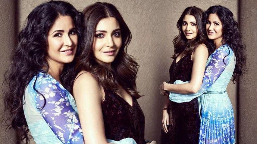 Katrina Kaif and Anushka Sharma look super CUTE during Zero Promotion   Boldsky